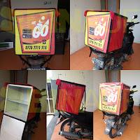 Tas delivery box makanan Mr Go Surabaya