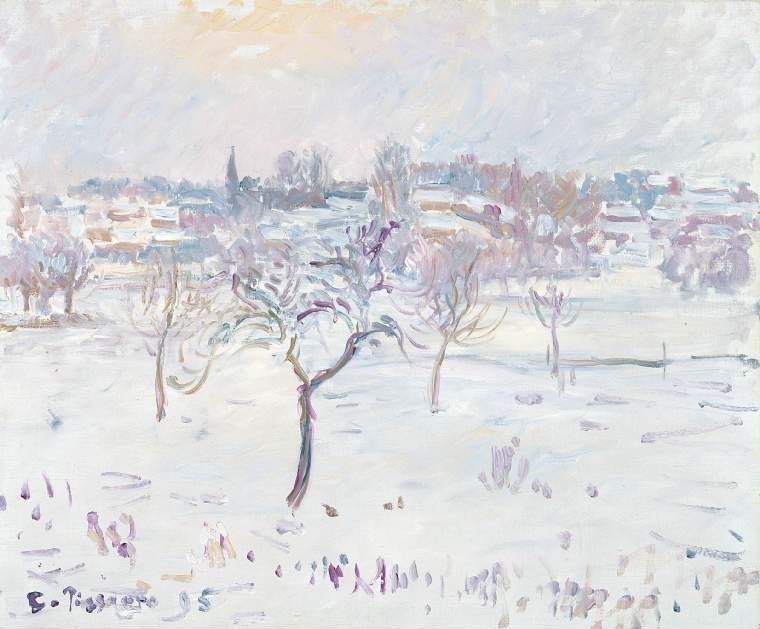 poplars grey weather by camille pissarro Jacob-abraham-camille pissarro was born on the island of saint thomas, virgin  islands, to abraham gabriel pissarro, a portuguese sephardic  boulevard  montmartre - morning grey weather: 1897  poplars afternoon in eragny: 1899 .