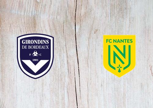 Bordeaux vs Nantes -Highlights 21 August 2020