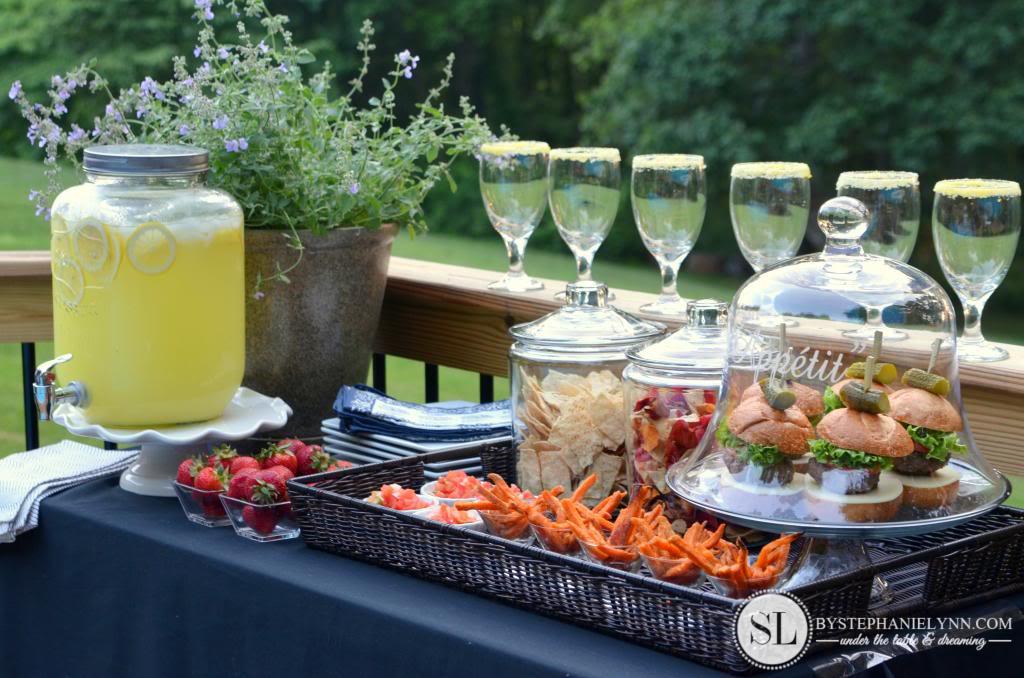 mesa aperitivos ano novo