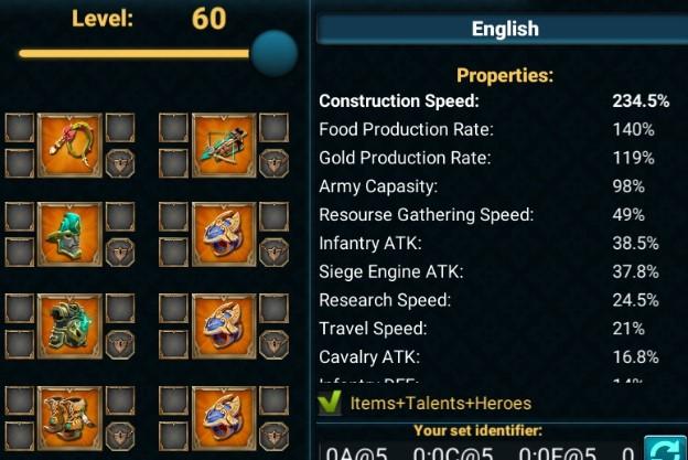 Gear Laju Pembangunan Terbaik Mengurangi Sampai  Gear Laju Pembangunan Terbaik Mengurangi Sampai 234.5% Waktu Membangun pada Game Lords Mobile