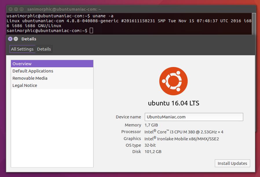 Upgrade to Linux Kernel 4 8 8 on Ubuntu 16 10, ubuntu 16 04