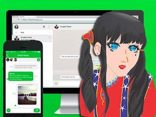 Cara Membuka WA (WhatsApp) di PC Komputer atau WEB Browser Komputer