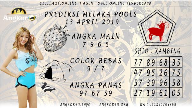 Prediksi Angka Jitu MELAKA POOLS 13 APRIL 2019