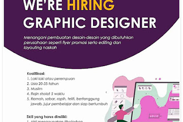 Lowongan Kerja Graphic Designer Sakeena Bandung