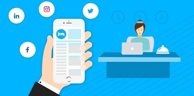 social media marketing hotel industry advertising customer service