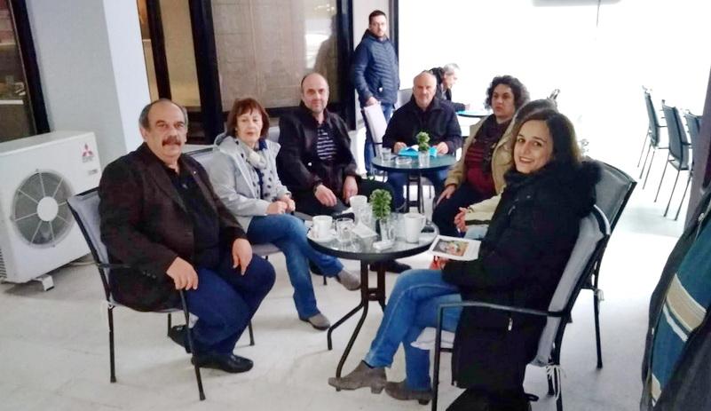 Συνάντηση Σάββα Δευτεραίου με το Δ.Σ. της Ένωσης Γονέων Δήμου Αλεξανδρούπολης