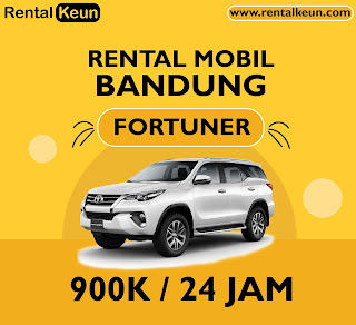 Rental Mobil Fortuner Bandung