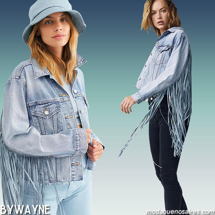 Moda jeans otoño invierno 2020.