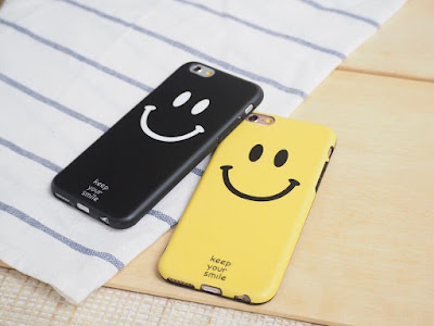 custom case ikon smile