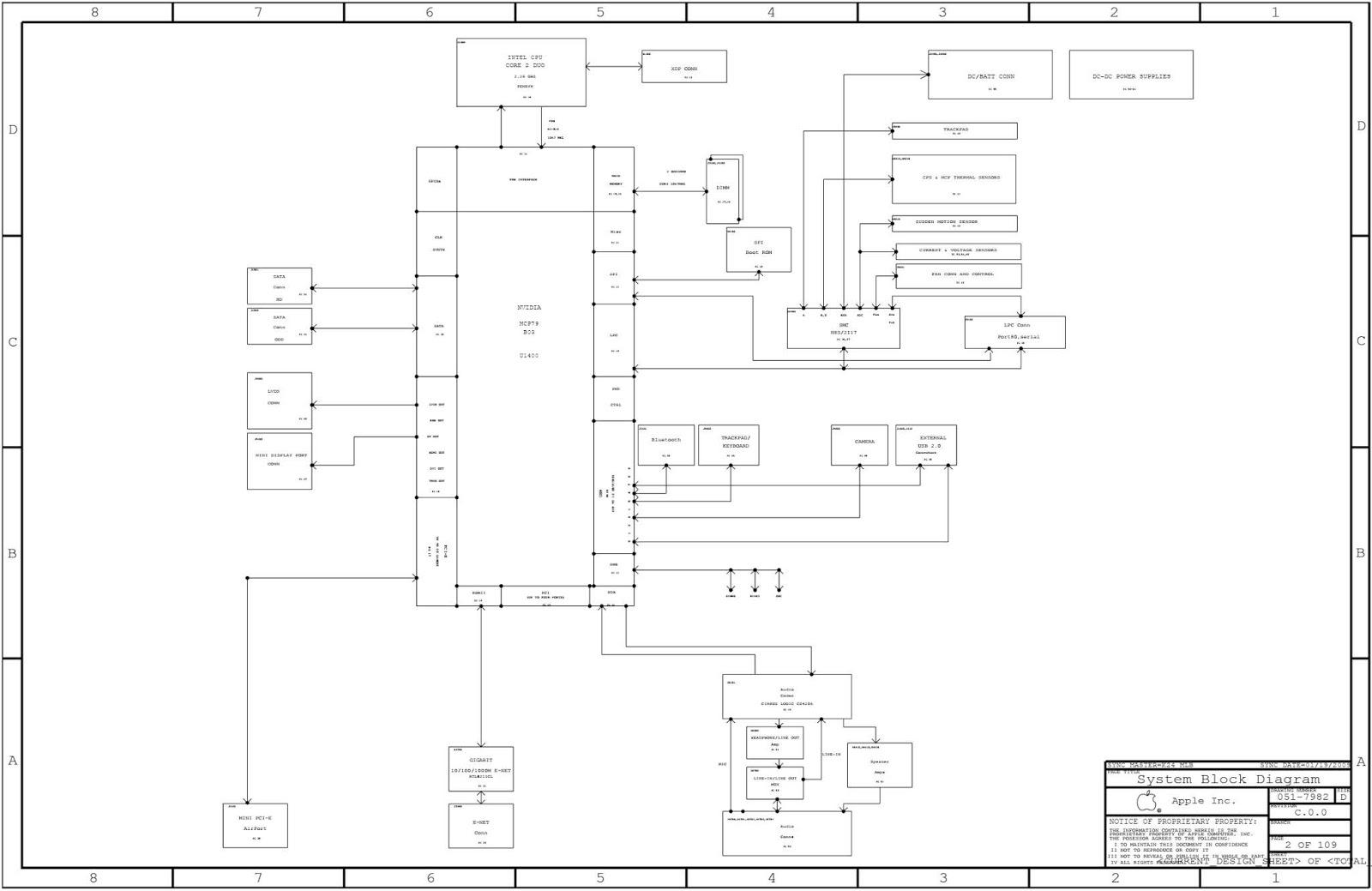 schematic apple macbook unibody a1342 - k84, 820-2567