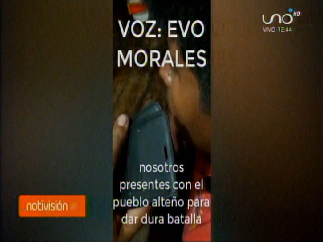 Murillo revela audio de Morales incitando a la violencia y alista demanda internacional contra el expresidente