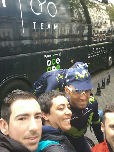 Alejandro Valverde, salida en Amstel Gold Race