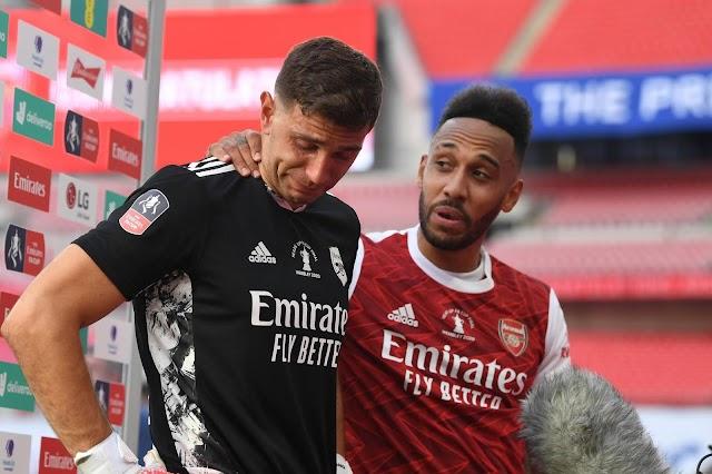 Emi Martinez Departs Arsenal After 10 Years