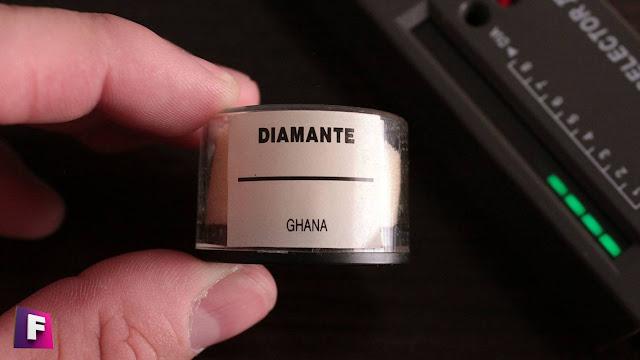 test con diamante real y el diamond selectoR II