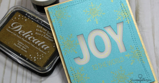 Handmade Christmas 2017: Joy to Light Up Your World using Concord & 9th and Chibitronics