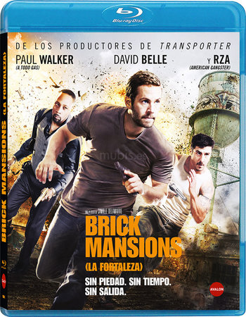 Brick Mansions (2014) Dual Audio 300MB