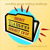Secret Subject Swap, a multiblogger writing challenge | developed and run by www.BakingInATornado.com | #MyGraphics