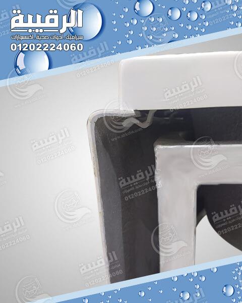 بانيو الجوهرة أكريلك زاوية أبيض  120×120 بدون الشاسية