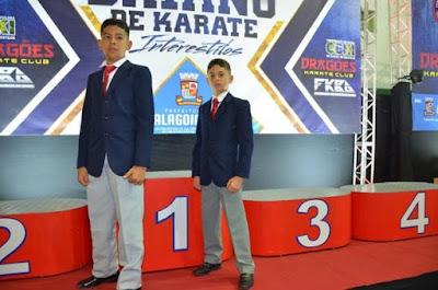 Alagoinhas leva o 1º lugar no Campeonato Estadual de Karatê