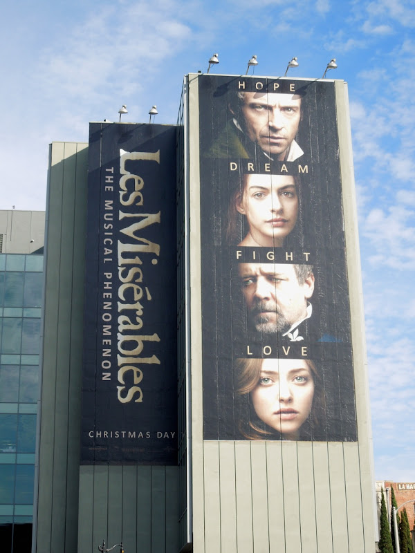 Les Miserables movie musical billboard