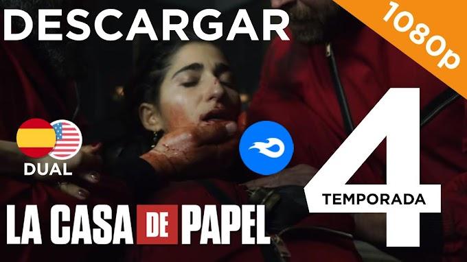 ✅ | DESCARGAR  LA CASA DE PAPEL - Temporada 4 | DUAL |HD