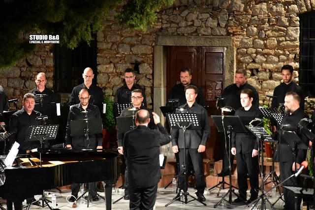 """Ο """"Ύμνος εις την Ελευθερίαν"""" ακούστηκε την 2η μέρα του Φεστιβάλ Ναυπλίου στο Παλαμήδι"""