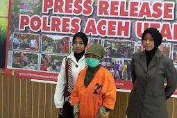 Wanita Muda di Aceh Ini Setubuhi Anak Dibawah Umur