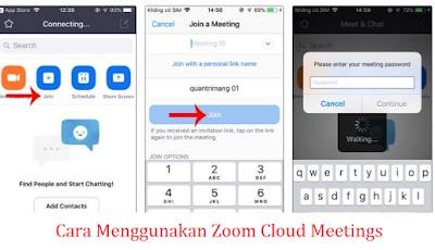 cara pakai zoom android