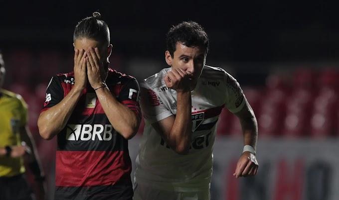 São Paulo não é derrotado pelo Flamengo há quatro anos; confira o retrospecto