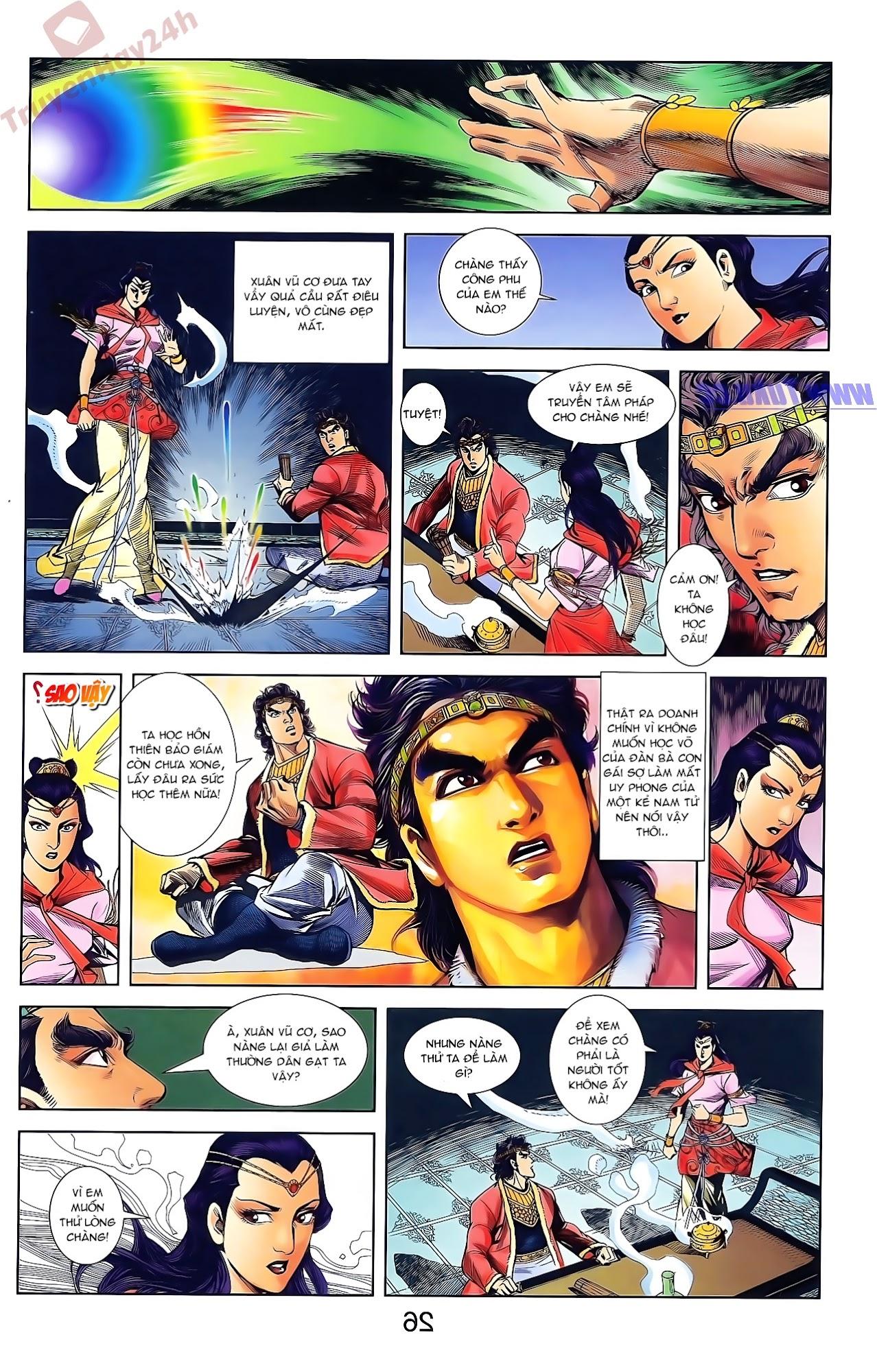 Tần Vương Doanh Chính chapter 48 trang 12