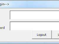 FORM LOGIN USER DAN PASSWORD DI EXCEL