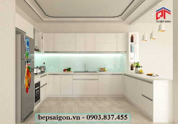 tủ bếp, tủ bếp hiện đại, tủ bếp thông minh