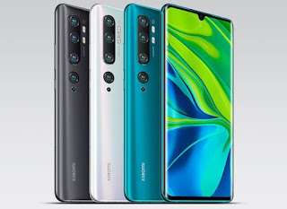 Xiaomi Mi note 10 specs and price