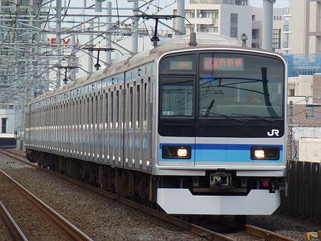 【早朝限定!】メトロ東西線E231系の快速 西船橋行き