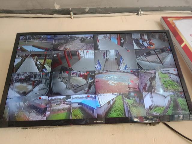 Tingkatkan Sinergi Pengamanan, Personel Patroli Satsabhara Polres Barsel Sambangi Rutan