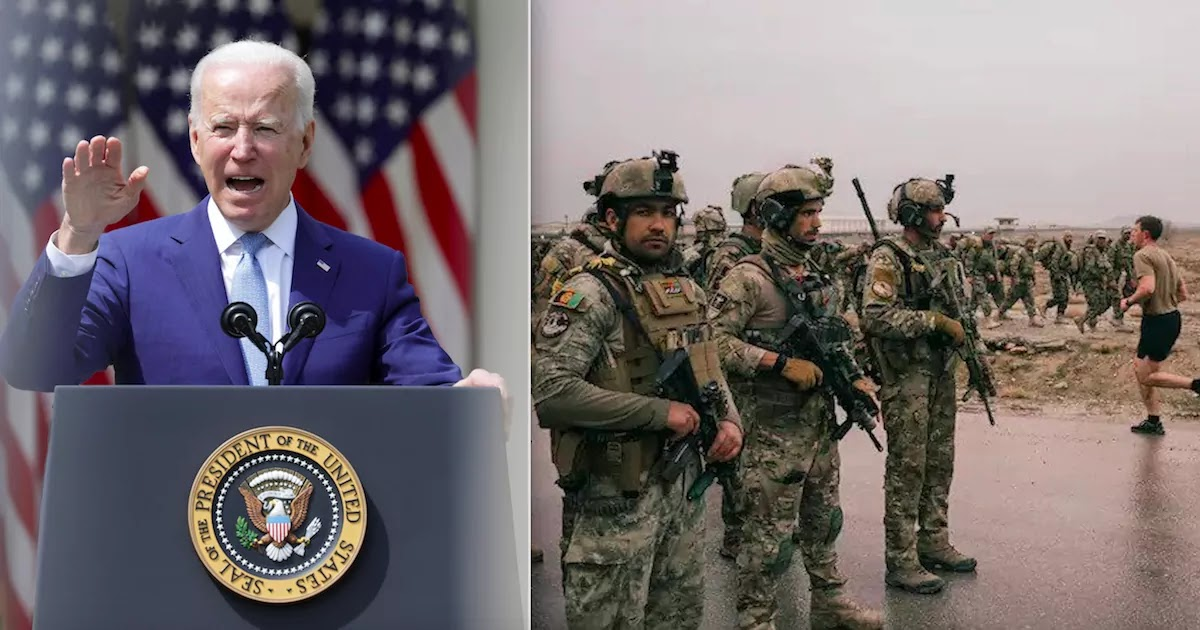 Biden Announces That All US Troops Will Be Withdrawn From Afghanistan By Sept. 11th, 20 Years After The War Began