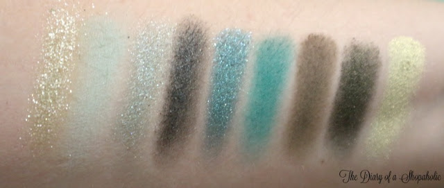 Emerald Obsession swatches