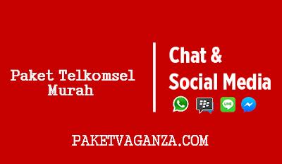 Cara Daftar Paket Chat Telkomsel Murah ( Whatsapp, BBM, Line ) Terbaru 2018