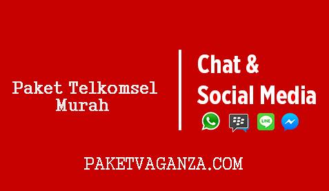 Cara Daftar Paket Sosial Media Telkomsel ( Whatsapp, BBM, Line ) Terbaru 2019