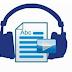 تحويل النصوص الى كلام مسموع و حفظها بصيغ MP3 / Wav