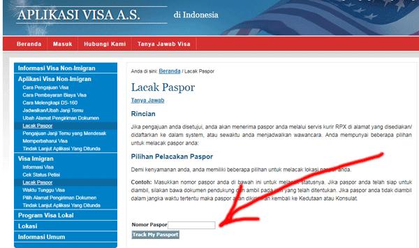 melacak status visa amerika bagi imigran