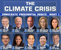 Climate Related Excerpts from the July 31st CNN Democratic Presidential Debate
