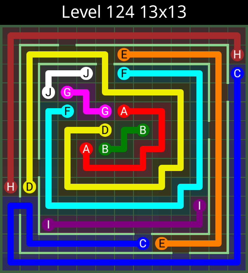 Flow free courtyard spin level 121 system