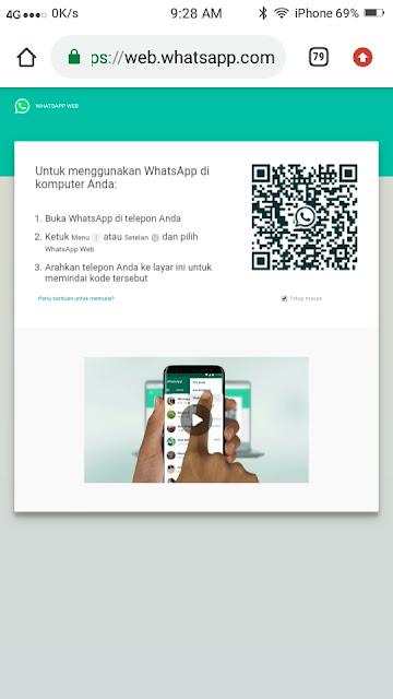 Cara Menyimpan Foto Profil Whatsapp- Dua HP 3