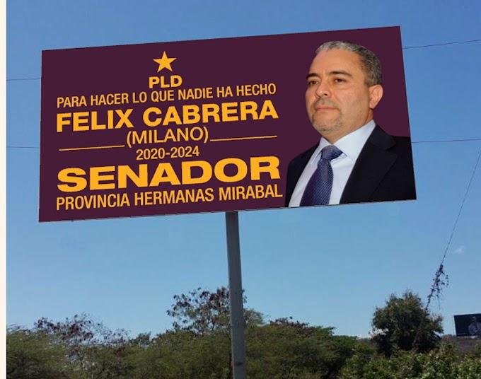 El empresario Félix Cabrera lanza campaña a la senaduría del PLD en la provincia Hermanas Mirabal