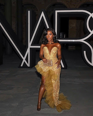 Jackie Aina fashion and style looks latest