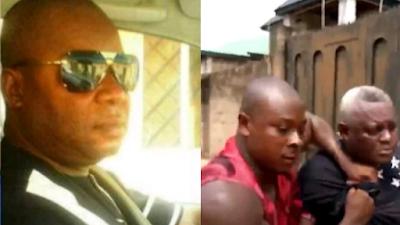 Akwuzu SARS: James Nwafor Caught Hiding In Ghana, Beaten To Stupor (Video)