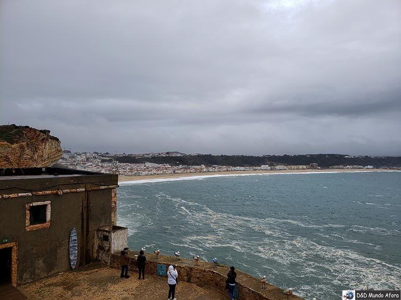 Forte de São Miguel Arcanjo - O que fazer em Nazaré Portugal