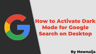 How to Activate Dark Mode for Google Search on Desktop